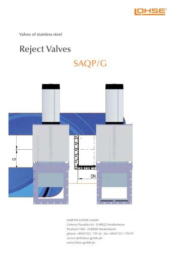 Reject-Valve SAQ