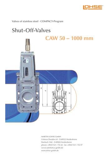 Shut-Off Valves CAW