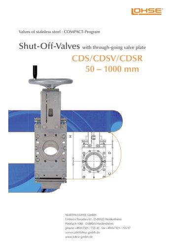 Shut-Off Valves CDS