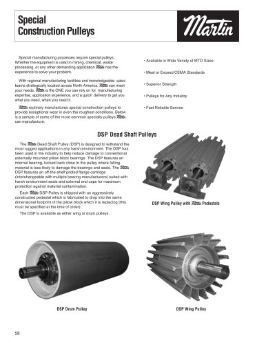 Conveyor Pulleys- Special Construction Pulleys