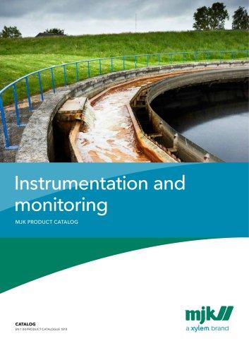 Instrumentation and monitoringMJK PRODUCT CATALOG