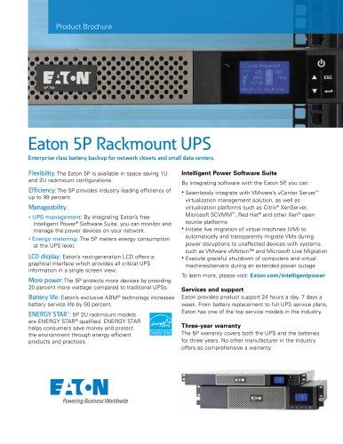 5P Rackmount (500-3000 VA)