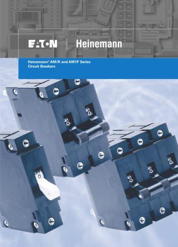 Heinemann® AM/R and AM1P Series Circuit Breakers