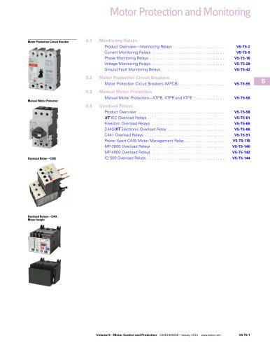 Motor Protection and Monitoring