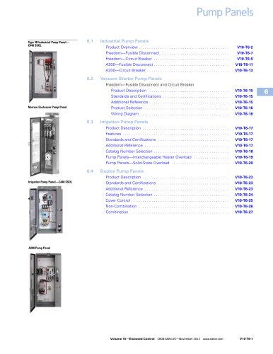 Pump Panels