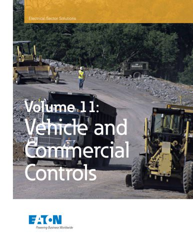 Volume 11 - Vehicle and Commercial Controls