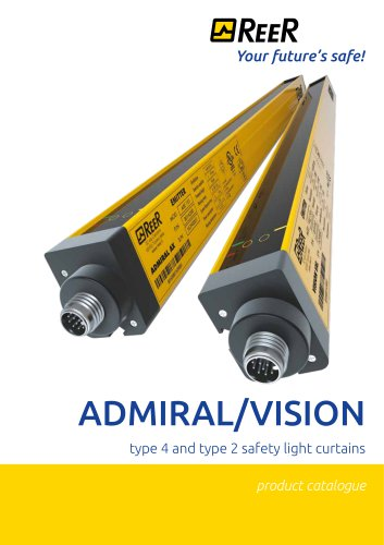 ADMIRAL - VISION Type4 - Type2 Sfaety Light Curtains