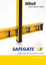 SAFEGATE - Access control safety light curtains