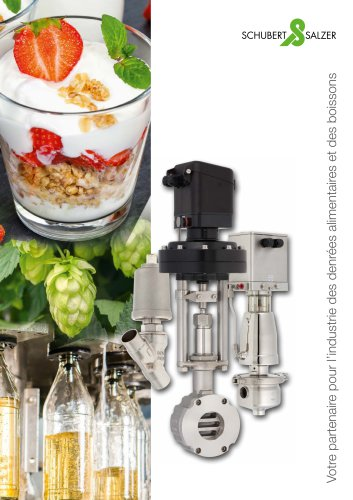 Schubert & Salzer - votre partenaire pour l'industrie des denrées alimentaires et des boissons