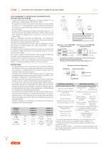 CFSW.  - CFMW. - Charnière avec interrupteur multiple de sécurité intégré - 4