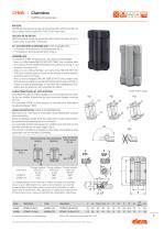 CFSW.  - CFMW. - Charnière avec interrupteur multiple de sécurité intégré - 7