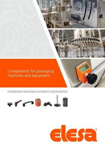 Components for packaging machines and equipment