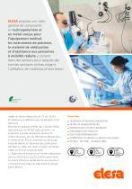 Composants pour l'équipement médical et paramédical et les instruments de précision. - 2