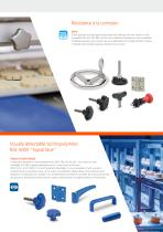 Composants pour équipements hôteliers et machines des secteurs alimentaires - 4