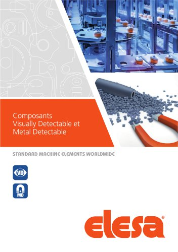 Composants Visually Detectable et Metal Detectable