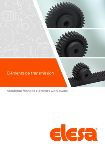 Eléments de transmission