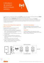 Indicateurs de position électroniques wireless - 2