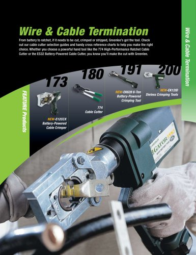 Wire & Cable Termination Catalog
