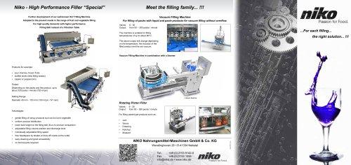 Filling Machine / In-Line Filler