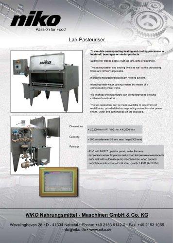 Lab-Pasteurizer